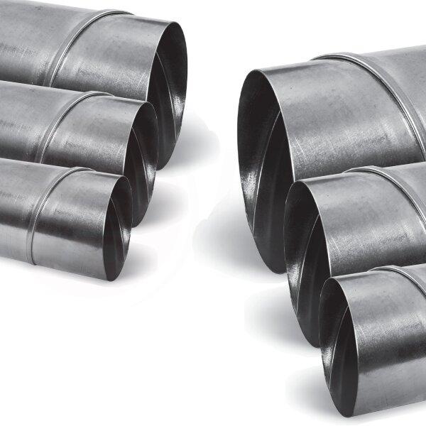 Reduzierstück Reduktion Aluflex Rohr Flexrohr Lüftung Wickelfalzrohr Verzinkt