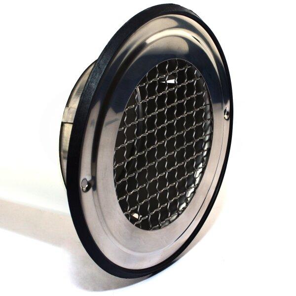 L/üftungsrohr Drosselklappe einstellbarer Luftdurchflussmenge mit Gummidichtung Doppellippendichtung Wickelfalzrohr Einstellbare Luftdurchflussmenge /Ø 125 mm