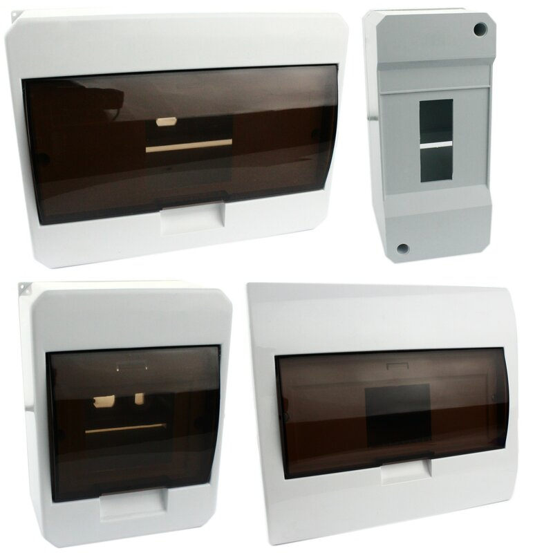 aufputz sicherungskasten wei 2 50. Black Bedroom Furniture Sets. Home Design Ideas
