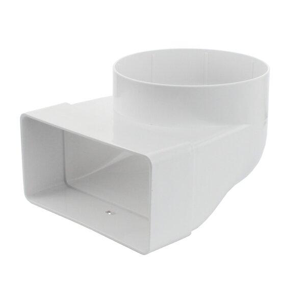 flachkanal dunstabzug beautiful abluftkanal xmm dunstabzug lftung flachkanal kunststoff mm lang. Black Bedroom Furniture Sets. Home Design Ideas